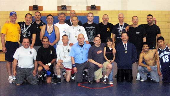 Wrestlers at the 2008 WWB Cup Championship in Chicago