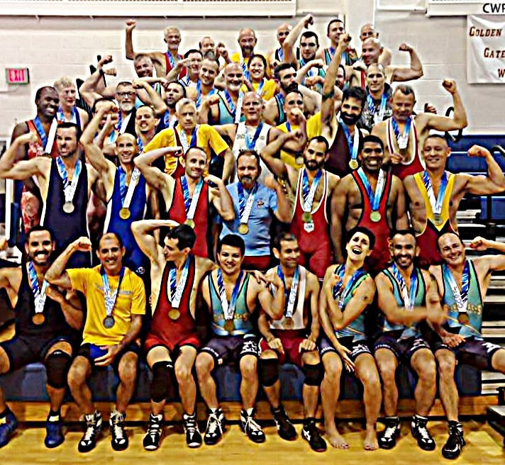 The warriors of the 2014 Gay Games Cleveland FreeStyle & Grappling Tournament